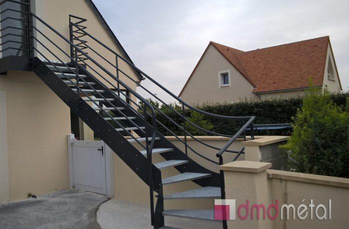 Escalier extérieur DMD Métal