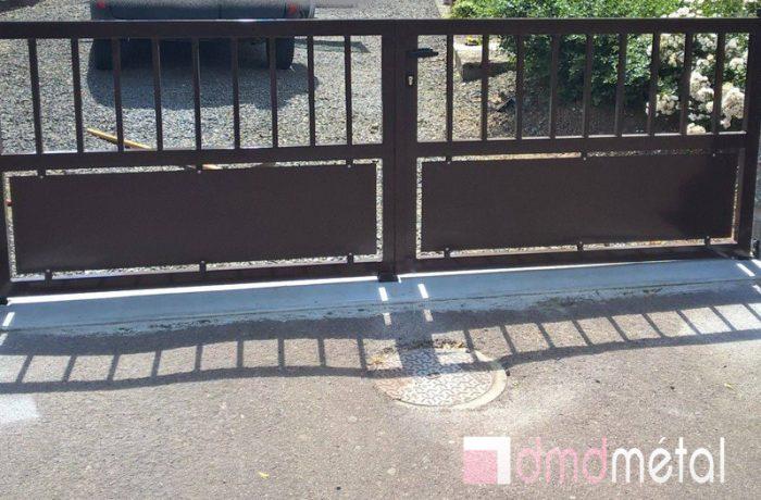 Conception portail DMD Métal