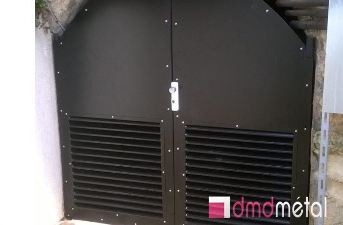 Porte DMD Métal